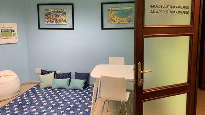Los juzgados de Palma estrenan salas amigables para menores