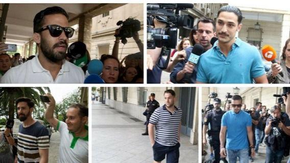 El TSJ navarro confirma la pena de 9 años por abuso sexual para 'La Manada'