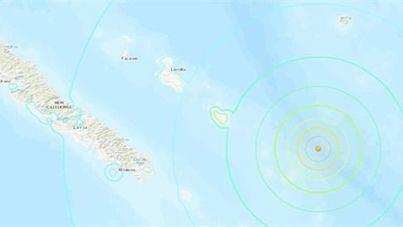 Nueva Caledonia ordena la evacuación 'inmediata' por riesgo de tsunami