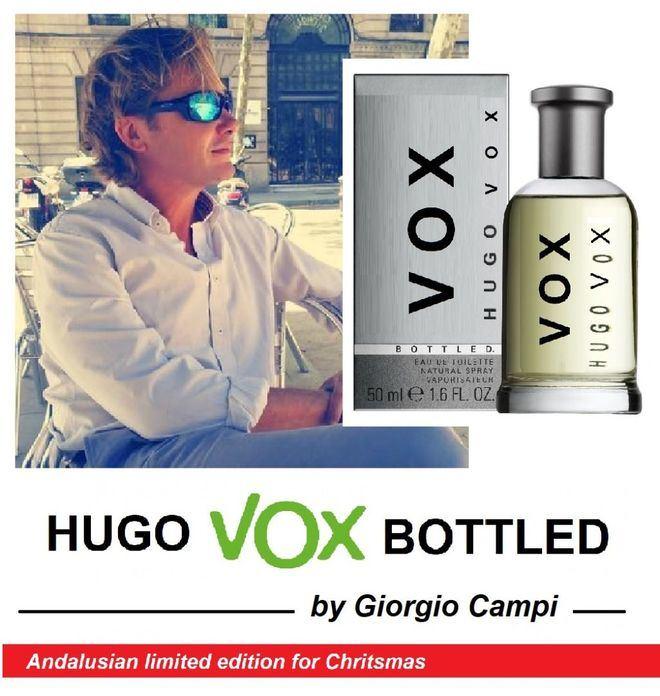 Viral de Internet: Jorge Campos lanza la colonia Hugo Vox por Navidad