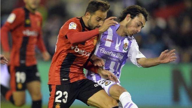 El Mallorca, fuera de la Copa del Rey tras caer ante el Valladolid