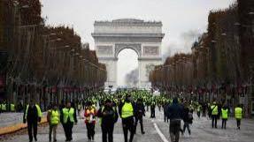 Despliegue policial 'sin precedentes' ante las protestas de los 'chalecos amarillos'
