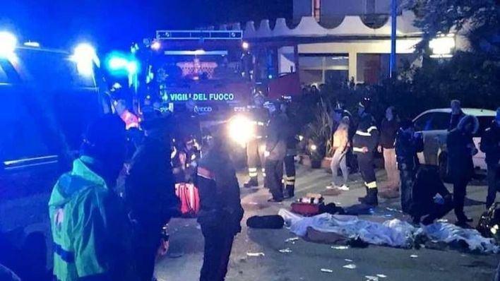 Seis muertos y más de 100 heridos tras una estampida en un concierto en Italia