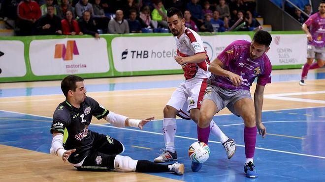 ElPozo, líder provisional, vuelve a ser la 'bestia negra' del Palma Futsal