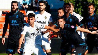 Atlético Baleares y Valencia Mestalla quedan en tablas