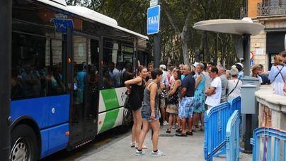 La EMT gana unos 715.000 pasajeros durante la temporada turística