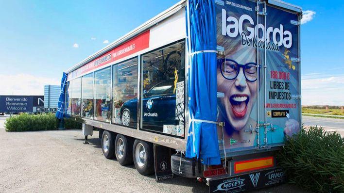 El camión de regalos más grande de Europa llega a Mallorca con Pimeco