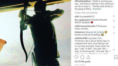 Stallone anuncia una carnicería en Rambo V
