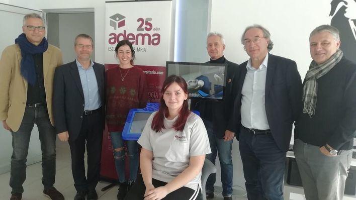 ADEMA incorpora simuladores virtuales 3D odontológicos para alumnos en prácticas