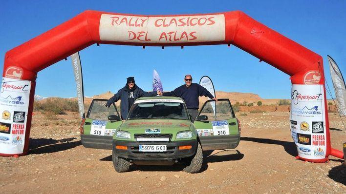 Victoria mallorquina en el VI Rallye Clásicos del Atlas