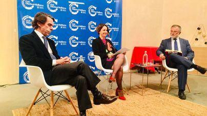 Aznar asegura en Palma que el 'golpe de Estado' catalán 'no se ha resuelto' e insta a 'restablecer la legalidad'