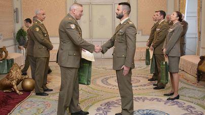 Diplomas para los militares que han participado en eventos deportivos este 2018