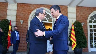 Calvo ofrece al Govern una reunión entre Sánchez y Torra el 21D