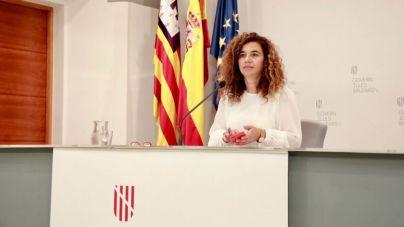 la portavoz del Govern, Pilar Costa no ha contestado a Cs
