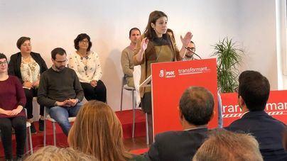 La portavoz del PSOE en el Congreso asegura que 'pronto será realidad el REIB para Baleares'