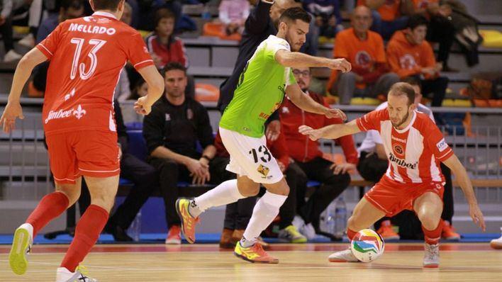 Un Palma Futsal deja escapar la victoria contra el Jimbee Cartagena