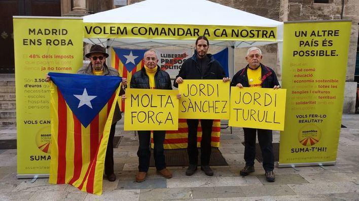 """El independentismo caldea la Diada de Mallorca con una manifestación: """"España no tiene remedio"""""""