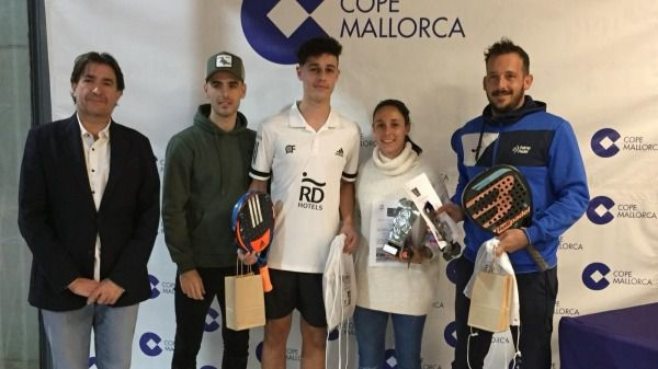 Toni Calafell y Dani Luna, ganadores del VII Torneo Cope Indoor