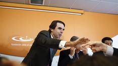 Podemos usa a un falso Aznar para arengar a sus bases