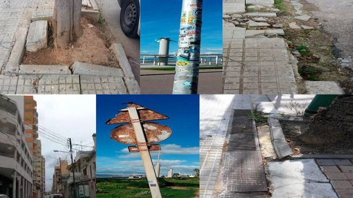 Playa de Palma suma 1.752 deficiencias en pavimento, señales y cableado