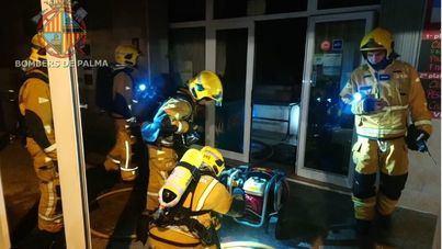 Noche de incendios en un restaurante de Can Pastilla y un piso de s'Arenal de Llucmajor