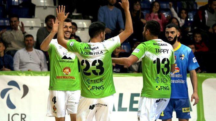 Movistar Inter-Antequera y Jaén-Palma, cuartos de Copa del Rey