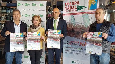 El chapuzón solidario de la IX Copa Nadal Port de Palma será a beneficio de Mallorca Sense Fam