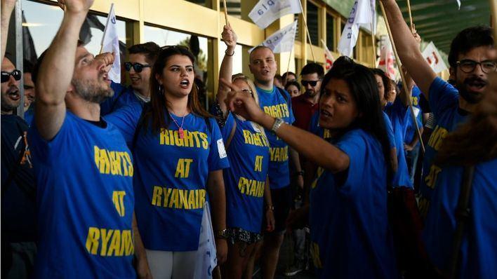 Los TCPs de Ryanair anuncian huelga para Año Nuevo