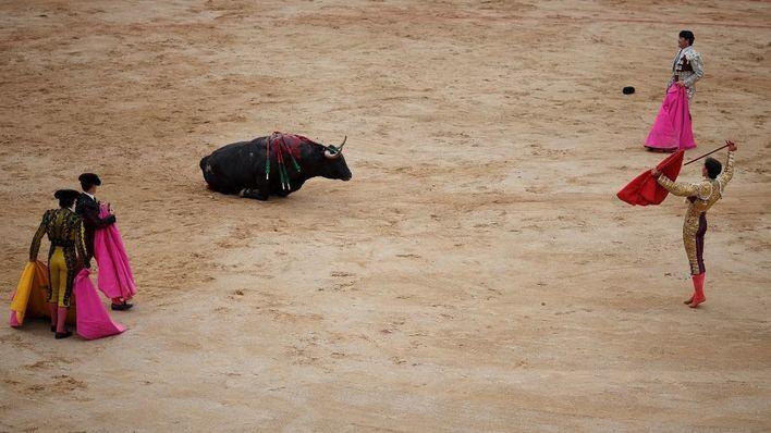 Movilización tras la decisión del Constitucional de tumbar la ley de toros 'a la balear'