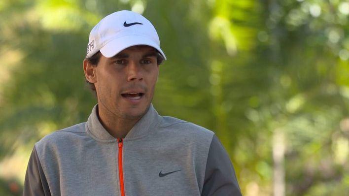 Rafael Nadal: 'Mi pretemporada es mejor que la del año pasado'