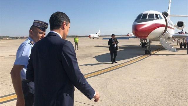 Visita sorpresa de Pedro Sánchez a las tropas españolas en Malí