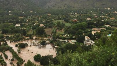 Pollença recibe 200.000 euros para reparar los daños de las lluvias del pasado 19 de octubre