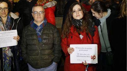 El juez ordena devolver el material incautado a los periodistas de Europa Press y Diario de Mallorca