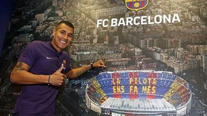 El Barcelona presenta este jueves a Jeison Murillo