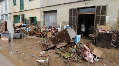 Sant Llorenç reparte 1,35 millones donados por particulares y empresas para afectados por la torrentada