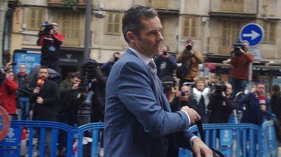 La entrada de Urdangarin en prisión y la incautación de móviles, temas del año judicial en Baleares