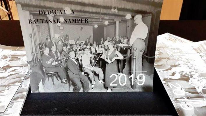 La OCB dedica el calendario de 2019 a Baltasar Samper