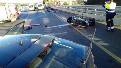 Dos motoristas sufren una amputación tras ser arrollados por una conductora ebria