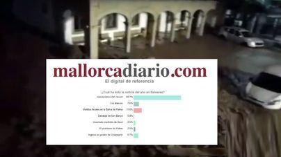 La riada del Llevant es la noticia del año para los lectores de mallorcadiario.com