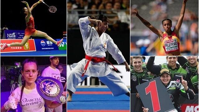 Las grandes protagonistas del deporte femenino español en 2018