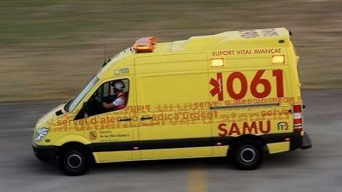 Un hombre de 65 años, en estado grave al salirse de la carretera entre Can Picafort y Son Serra