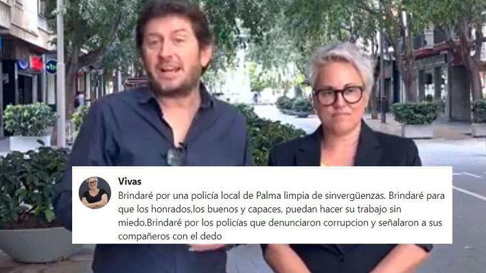 """Sonia Vivas, número dos de Jarabo a Cort, quiere una """"Policía Local de Palma limpia de sinvergüenzas"""""""