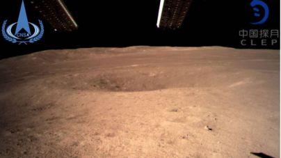 Primeras imágenes de la cara oculta de la Luna gracias a la '4' de China