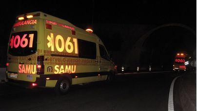 Muere un hombre de 29 años al estrellar su coche contra un pilar del puente de Génova