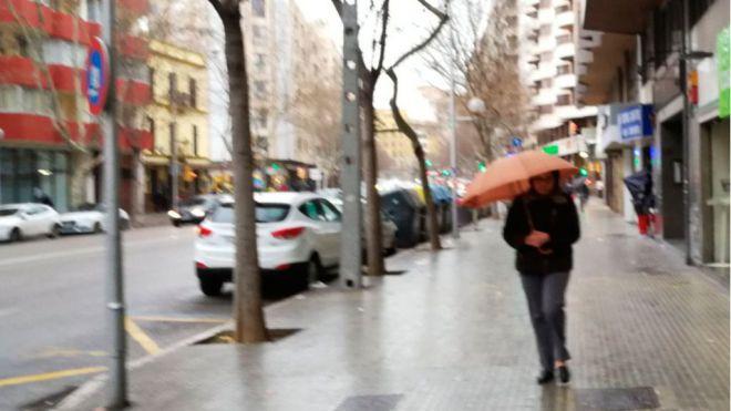 Las lluvias registradas en Baleares, por encima de los valores normales