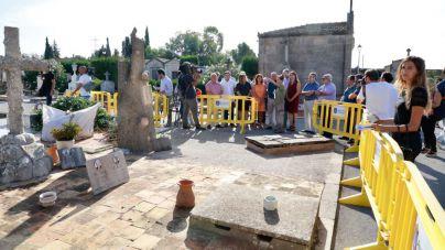El martes comienza la exhumación de la fosa del cementerio de Llucmajor