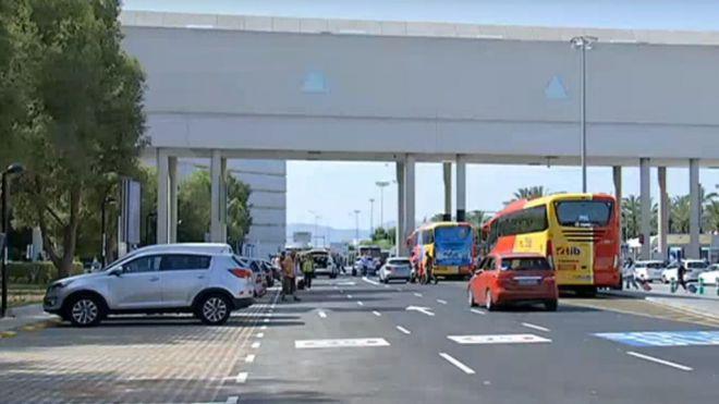 Son Sant Joan cubre 685 operaciones de vuelo este fin de semana con 107.995 pasajeros