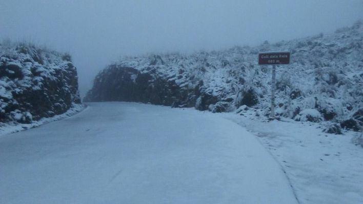 Frío polar y nieve en cotas bajas de Mallorca desde el jueves