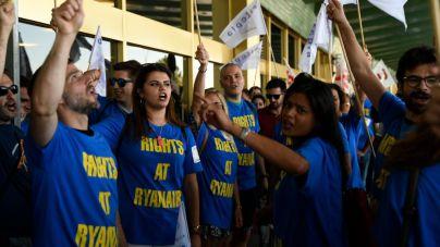 Ryanair afronta este martes su primera jornada de huelga de TPC