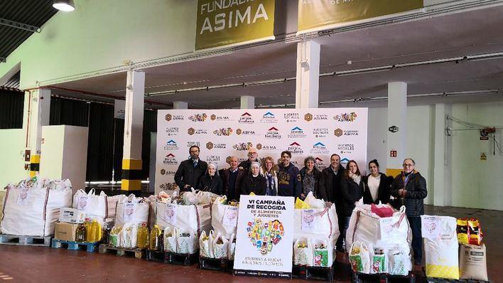 ASIMA entrega más de 6,5 toneladas de alimentos a seis ONG's mallorquinas
